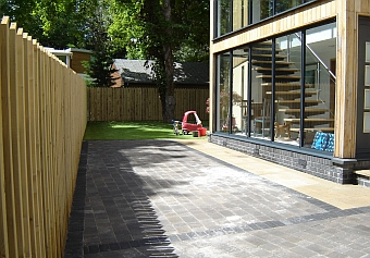 Fencing, paving and articicial grass installation by DrainTech South West