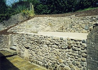 Landscaping and retaining walls for a domestic property, by DrainTech South West